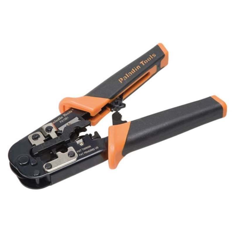 All-in-One UTP Snagless Crimper with ProGrip® Dual-Durometer Handles