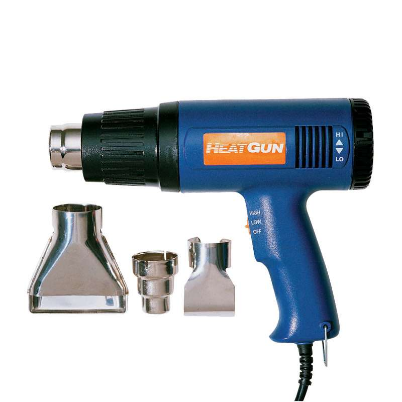 Heat Gun Kit, 250 to 1100° F, Includes 3 Nozzles