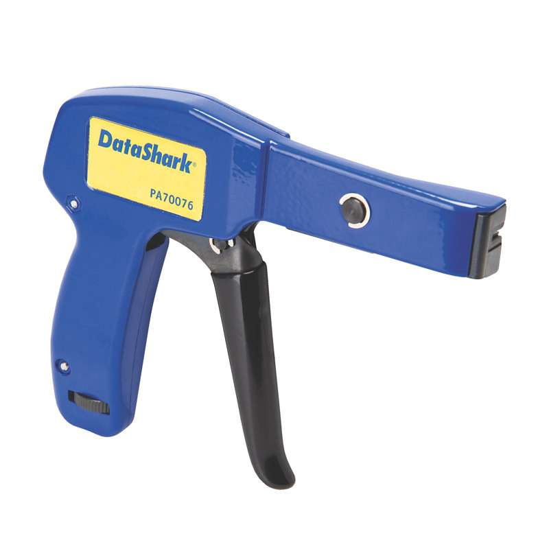 """DataShark® Cable Tie Installation Gun for up to 1/4"""" Wide Plastic Ties"""