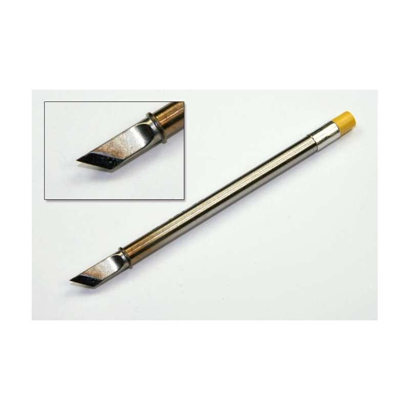 t31 series 45 bent knife solder tip for fx 100 soldering station 15mm. Black Bedroom Furniture Sets. Home Design Ideas