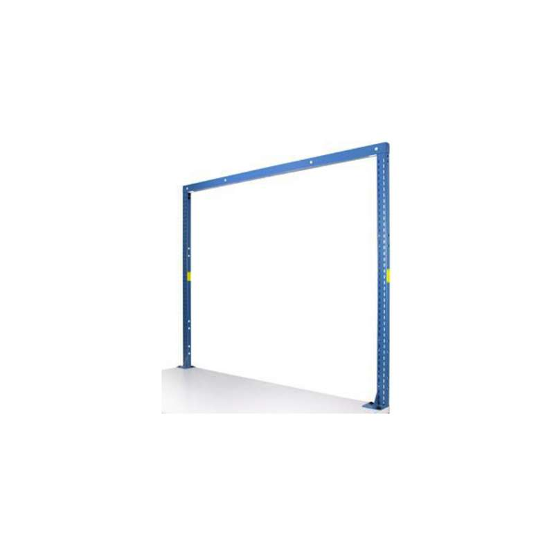 "MTS-II Quick Ship 2-Post Upright Structure for 60"" Bench, EZE Blue"