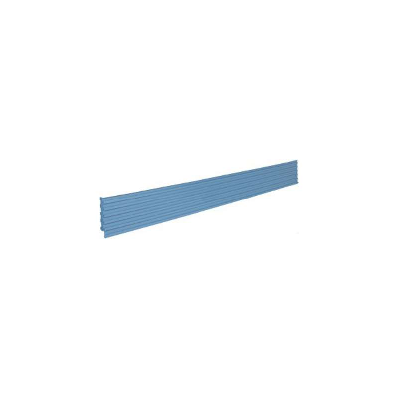 "MTS-II Quick Ship Multi-Rail-Bin Holder, 57""L, EZE Blue"