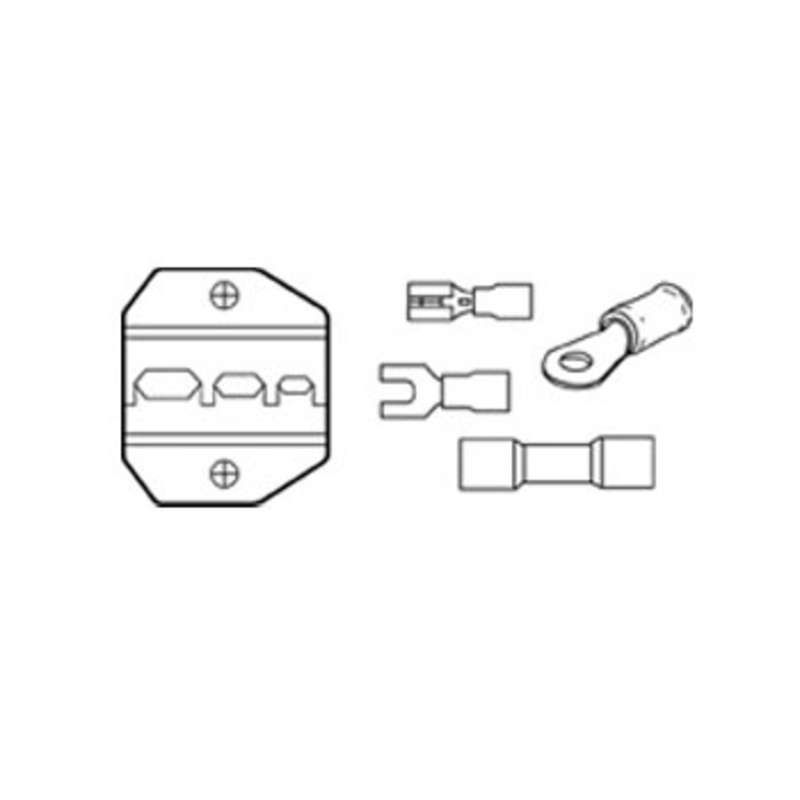 Insulated Terminal 10-22 AWG Die Set for Crimpmaster™ Crimpers