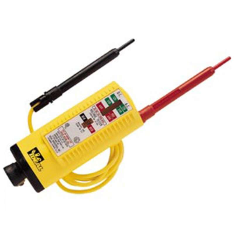Voltage Tester w/ Standard Leads for AC/DC Voltage from 80-600V
