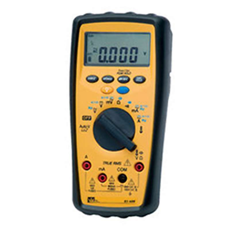 480 Series Auto Ranging Digital Multimeter with True RMS, Backlight, Peak Hold and Temperature