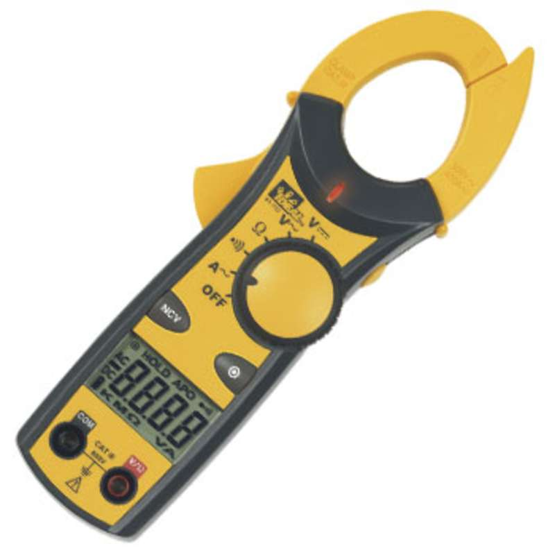 Clamp Meter Accessories : Digital a clamp on multimeter with case