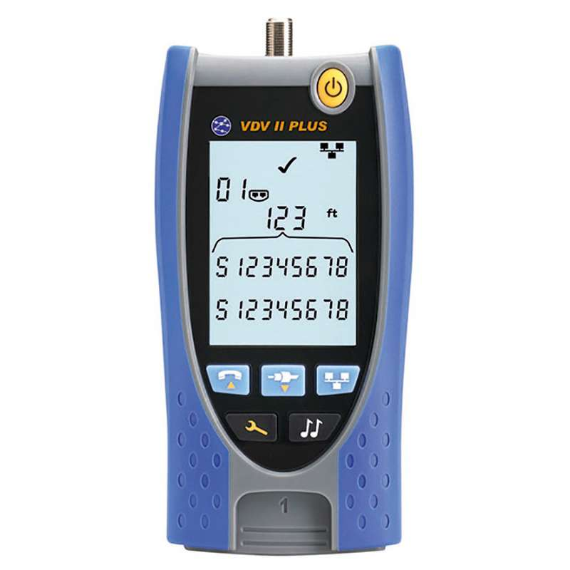 VDVII Plus Voice, Data and Video Cable Tester