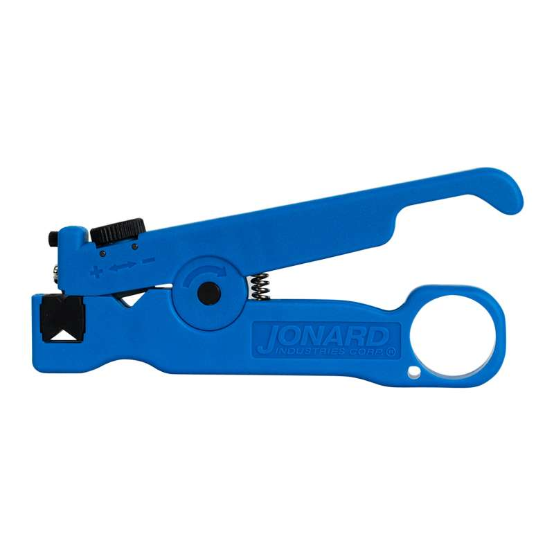 "UTP/STP and Coax Cable Slitter and Ring Tool for Cables up to 7.5mm, 4-1/2"" Long"