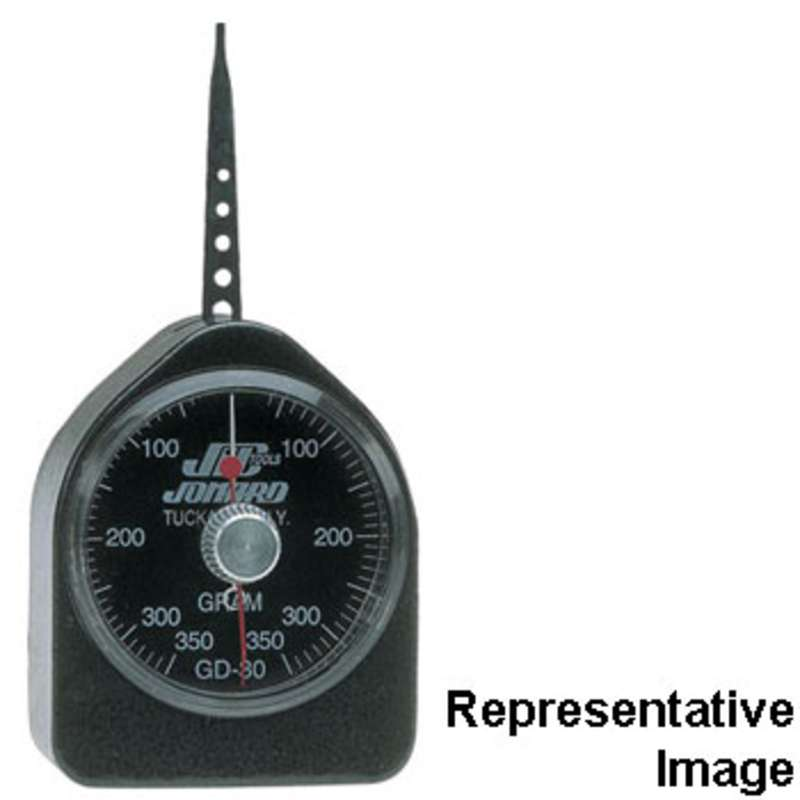 Dynamometer Tension Small Force Gauge, Range of 40-350 Grams