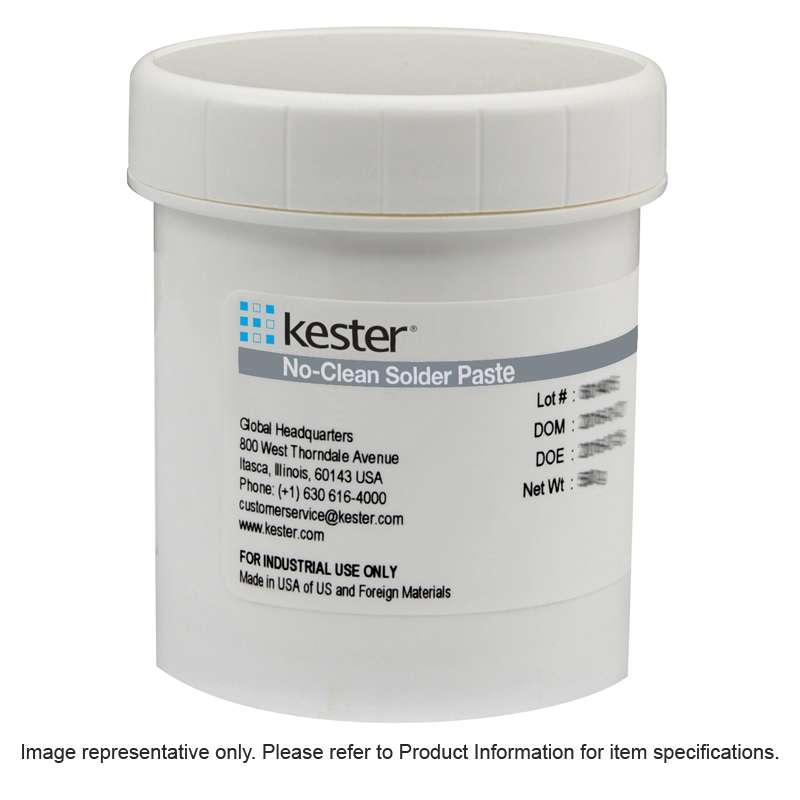 EP256 Series No-Clean Solder Paste, Type 3, Sn63Pb37, 500g Jar