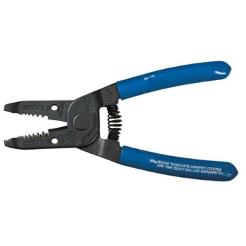 """Wire Stripper/Cutter for 10 - 20 AWG Solid and 12-22 AWG Stranded Wire, 6-1/8"""" Long"""