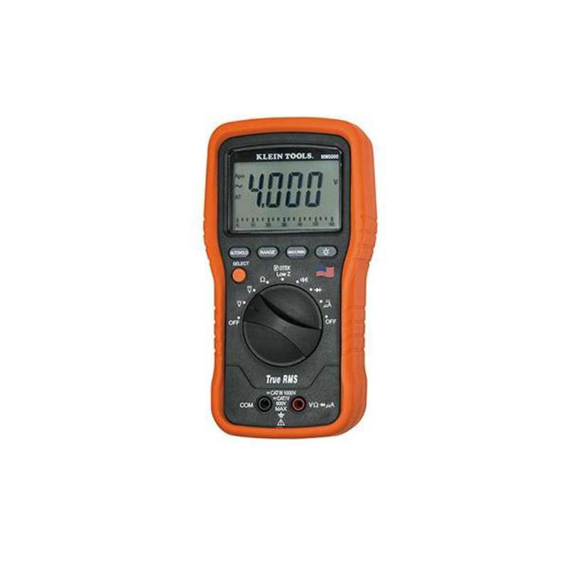 True-RMS Low Impedance Electrician's Multimeter