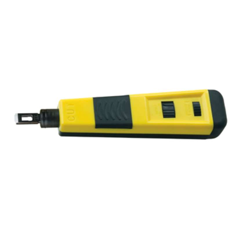 """Impact Punch Down Tool with a 66 / 110 Type Terminate and Cut Blade, 7"""" Long"""