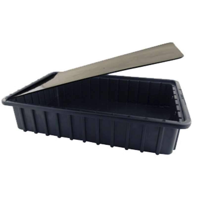 Conductive Tote Box Cover, Insert Style for DC3000 Series