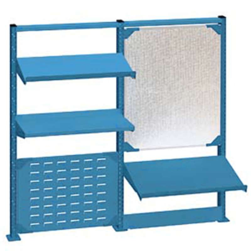 "Nexus Accessory System Kit for 72"" Lista Workbenches, Classic Blue"