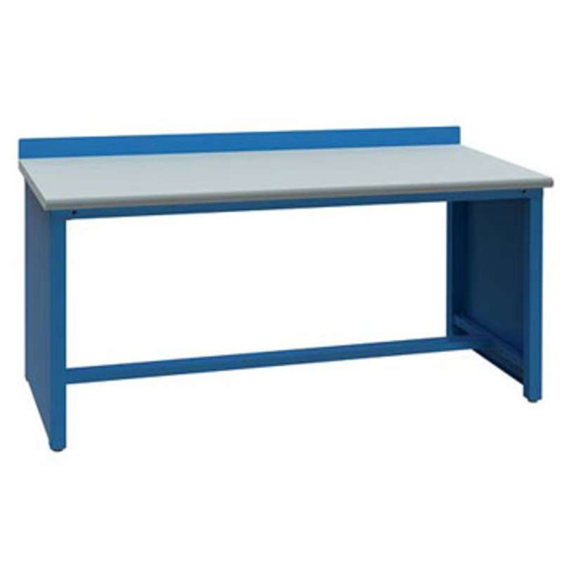 """Non-ESD Workbench with Stringer, Classic Blue, 30 x 60"""""""