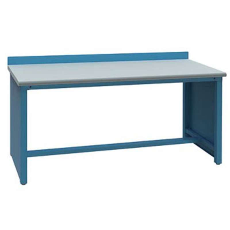 ESD-Safe Workbench with Stringer, Classic Blue, 30 x 60""