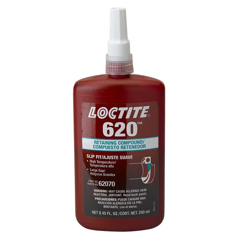 620™ Retaining Compound, Slip Fit, High Temperature, 250 ml Bottle