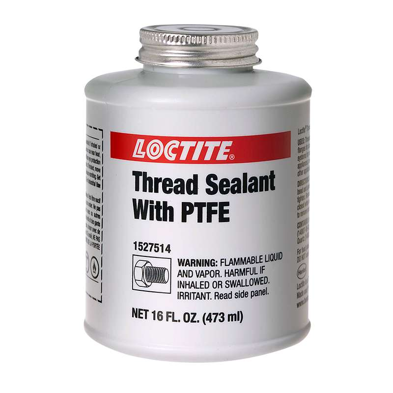 loctite thread sealant with ptfe 16 fl oz brush can