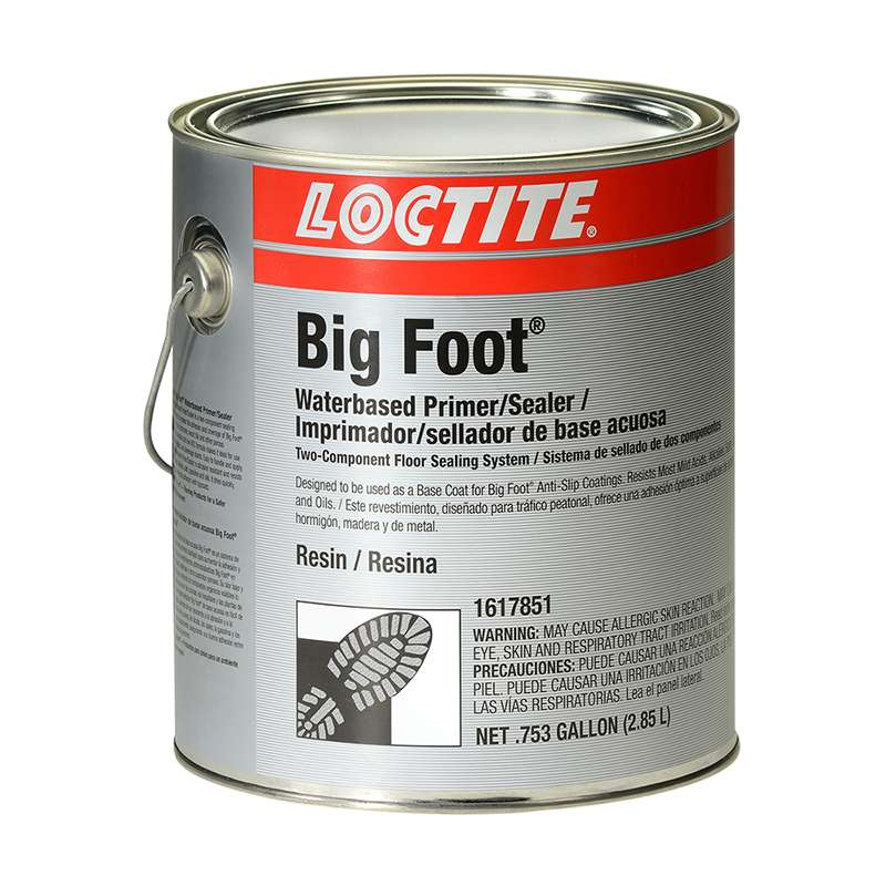 Big Foot® Water Based Clear Epoxy Sealer/Primer, 1 Gallon Kit