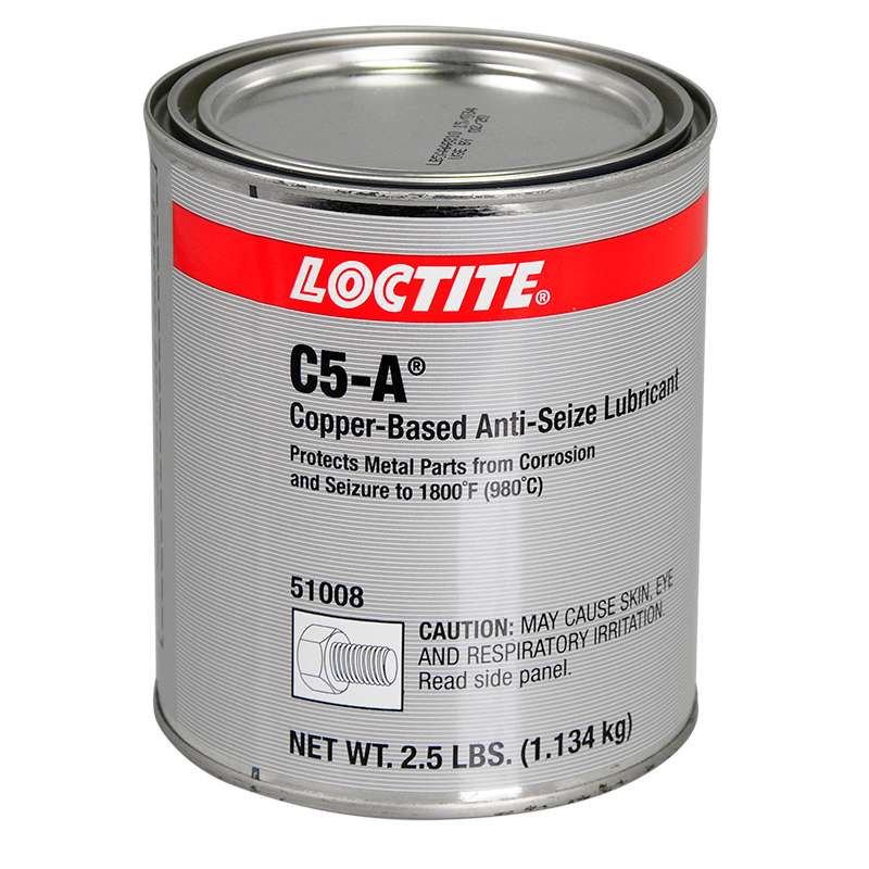 C5-A® Copper Based Anti-Seize High Temperature Lubricant (Meets Mil-PRF-907F), 2.5 lb. Can