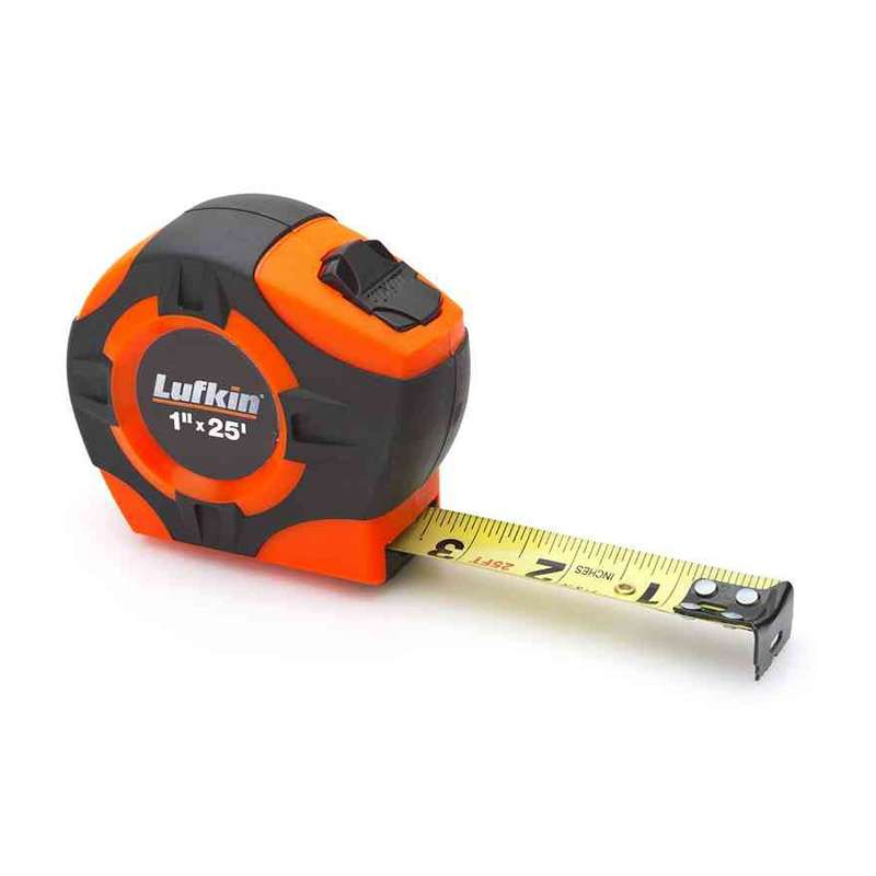 "P1000 Series Hi-Viz Orange Tape Measure with Power Return, 1/2"" x 10'"