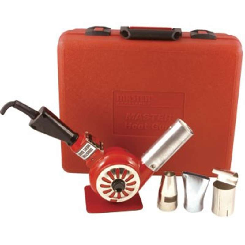 Heat Gun Kit, 200-300°F, 5A, Includes 3 Attachments and Storage Case