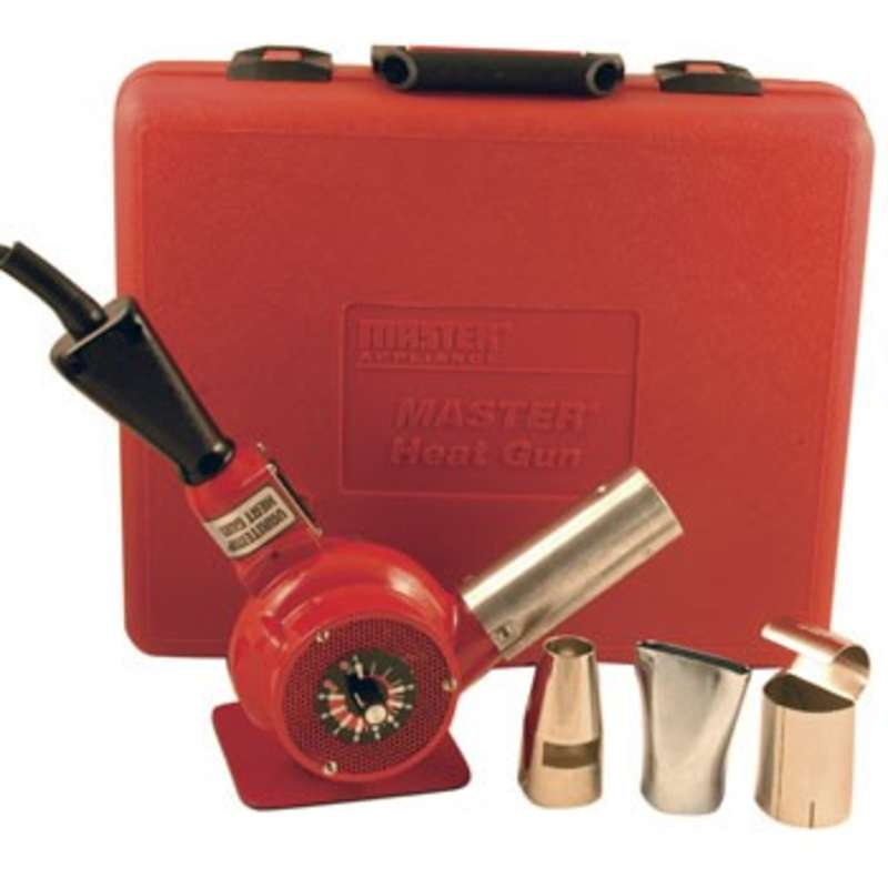 Varitemp Heat Gun® Kit, Three Attachments and Storage Carrying Case, 120 V