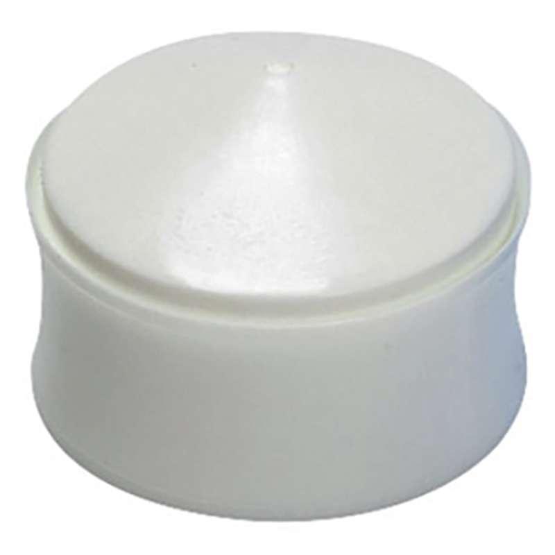 Wiper Syringe Piston, White, 3cc, 50 per Pack
