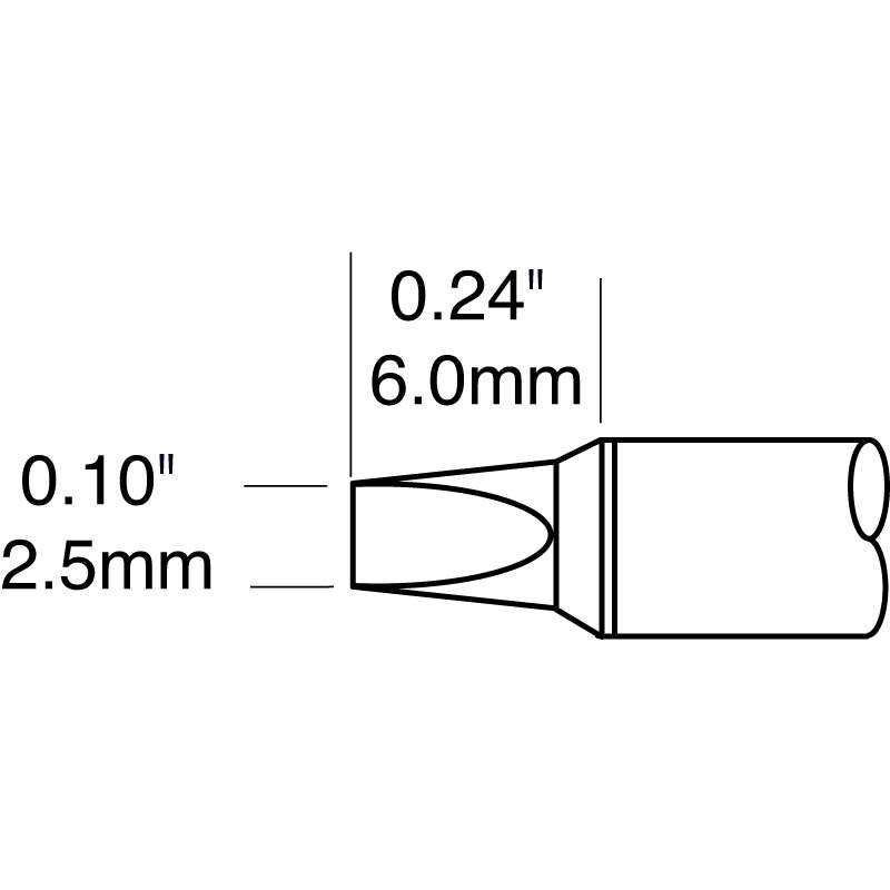 Metcal CV-5200 Power Chisel Cartridge