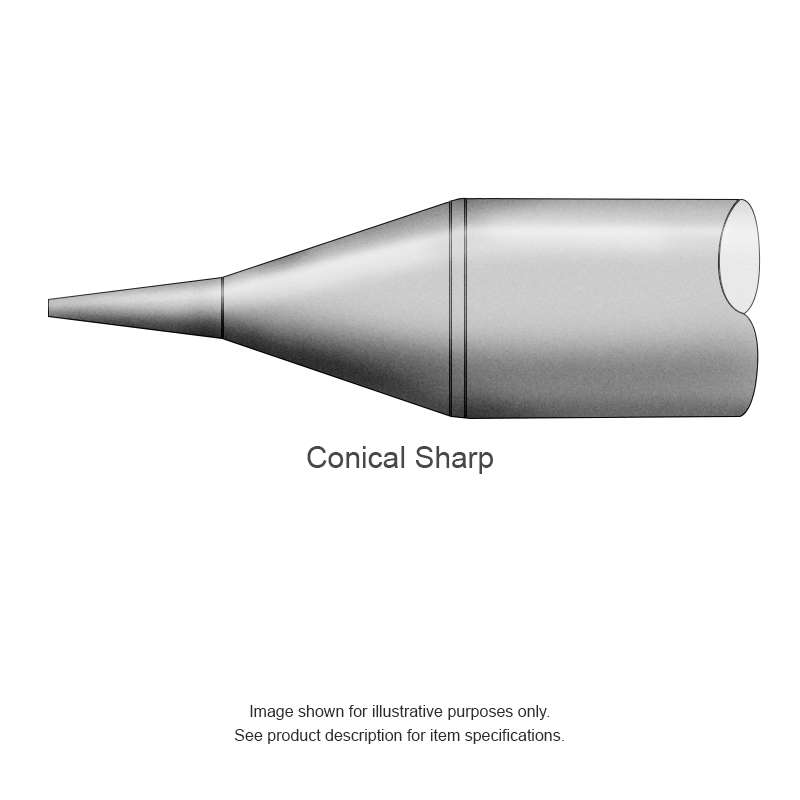 SSC 600 Series Sharp Conical Tip Solder Cartridge for SP200 Iron, 1.40mm