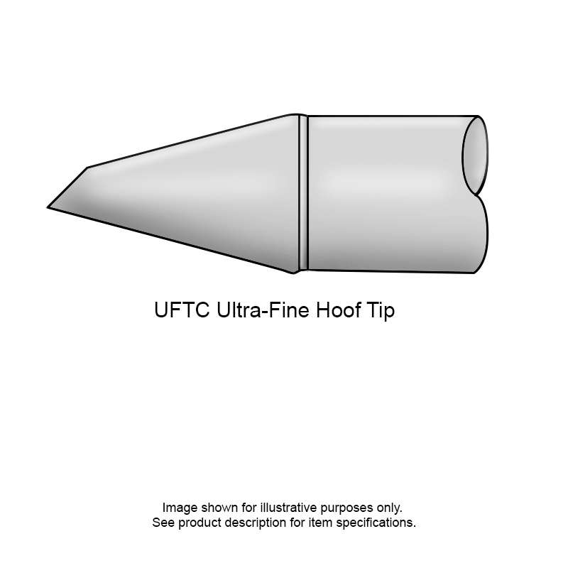 UFTC 700 Series Ultra-Fine™ Micro Hoof Cartridge for MX-H2-UF Iron, 5.1mm x 1.2mm