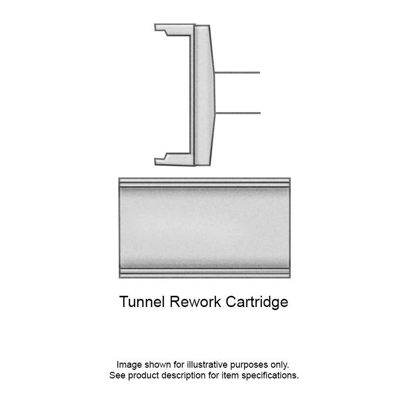 Standard Rework Tunnel Cartridge, RFP Series SOIC 8 Chip Package for MFR-HSR Iron, 5.18mm