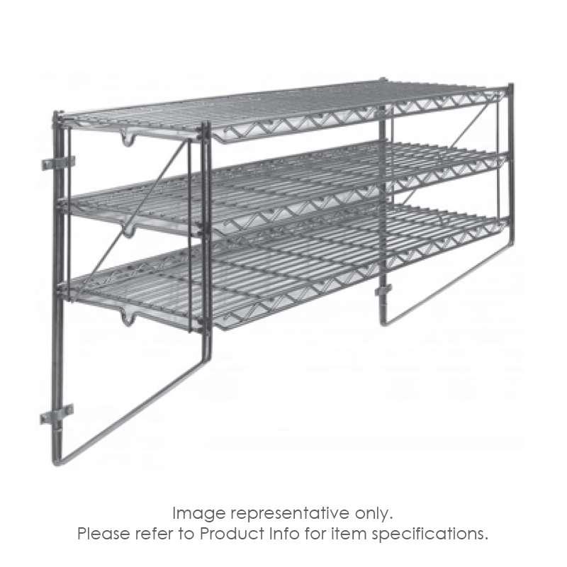 "Erecta Shelf® Wall Kit, 36""W x 12""D x 21""H"