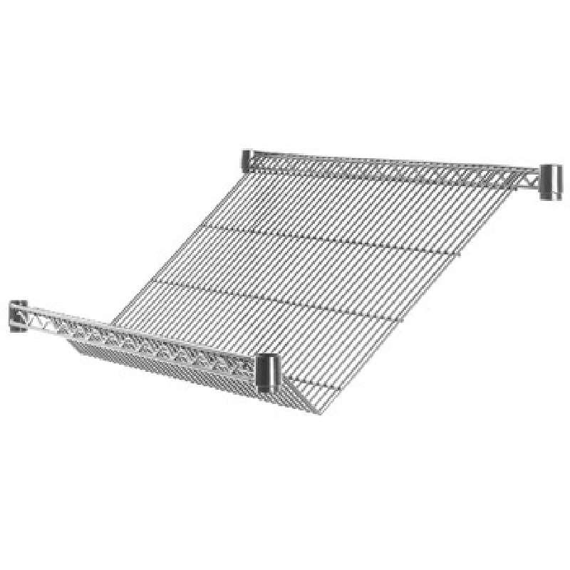 Shelf Slanted 18x36 Wire Chrome Metro Super Erecta