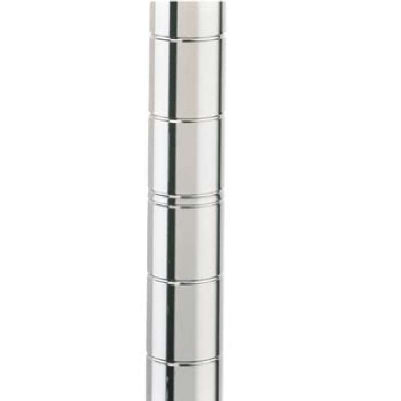 """Post 33-7/8"""" Stainless Steel w/Cap and No Leveling Bolt"""