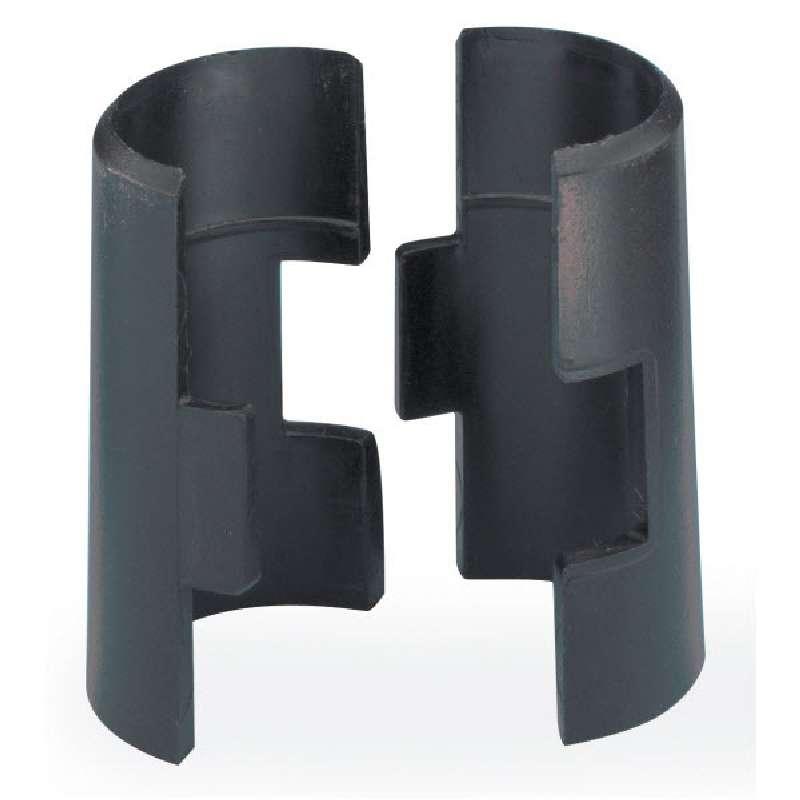Split Sleeve 4/Pak Plastic Black