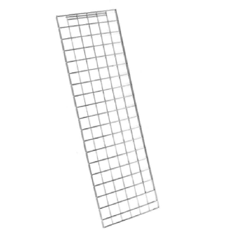 """Chrome Enclosure Panel for Use with Super Erecta® 74"""" Posts, 18-3/8 x 70-1/2"""""""