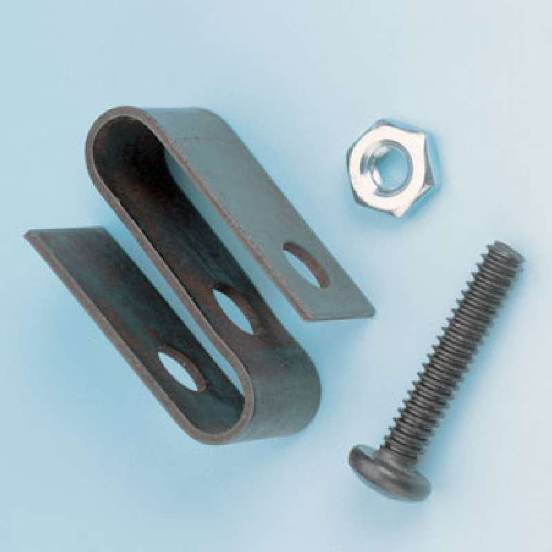 Shelf Connector Kit, Includes Security S-Hook, Nut, and Bolt, Chrome