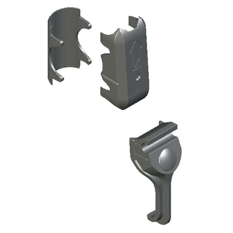 Replacement Corner Mechanism Kit for Super Adjustable 2™ Shelving, 12 piece