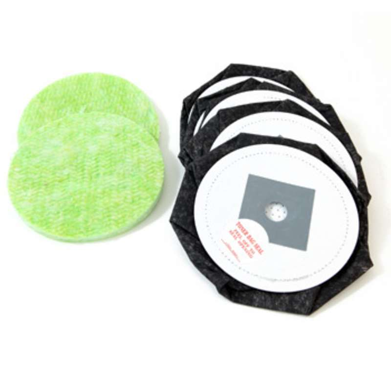 Toner Replacement Bags and Microfilters for DataVac® 2 and 3 Vacuums
