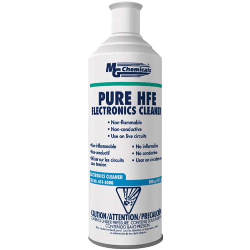 Pure HFE Electronics Cleaner, Non-Toxic, 10.5oz Aerosol