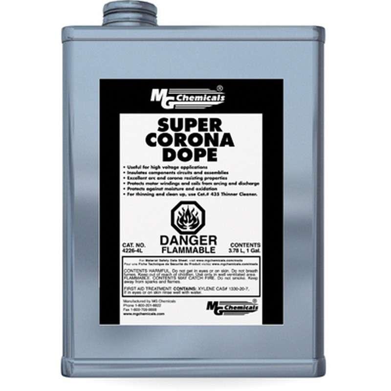 High Voltage Super Corona Dope, Clear, 1 Gallon