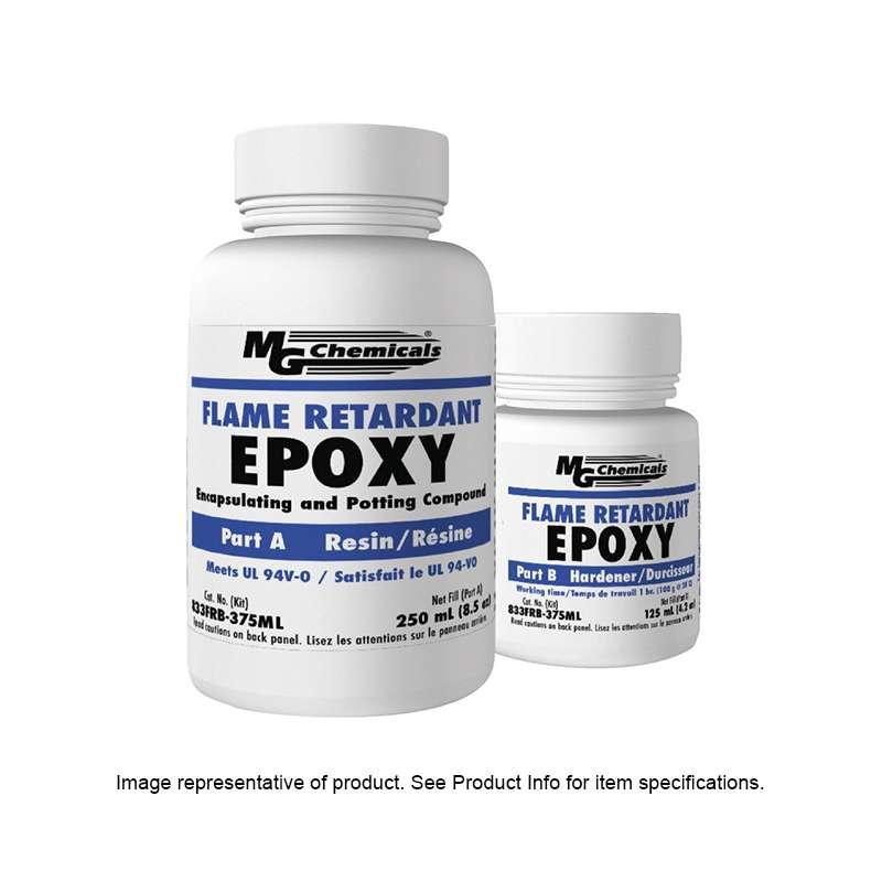 Flame Retardant Encapsulating Epoxy And Potting Compound With Hardener, 3 Liter Kit