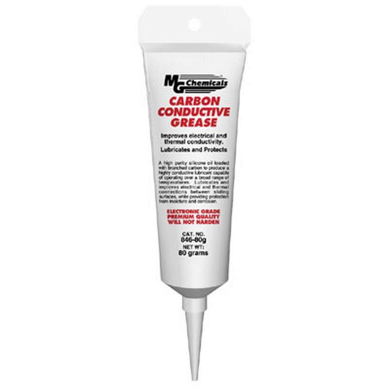 Carbon Conductive Grease, Black, 3oz Tube
