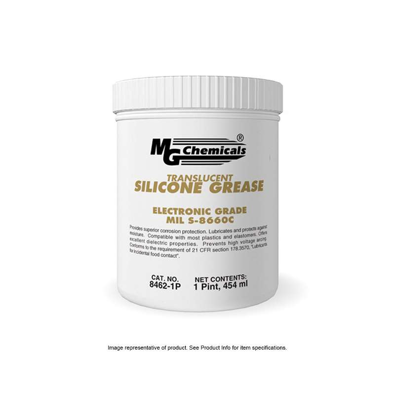 Dielectric Silicone Grease, Translucent, 1 Gallon