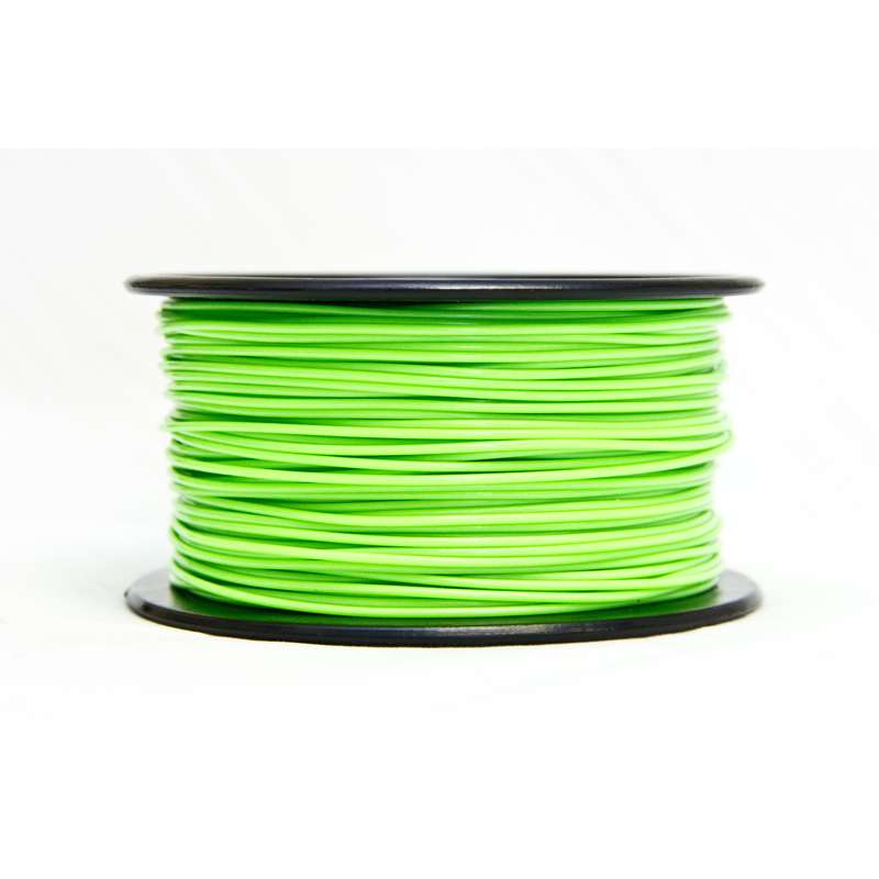 Premium ABS Filament For 3D Printers, 1.75mm, 0.5kg Spool, Green