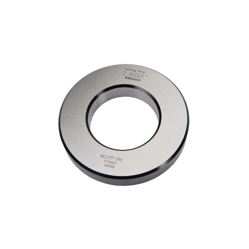 "Series 177 Setting Ring for Inside Micrometers, Holtest, and Dial Bore Gages, 5"" ± .00010"""