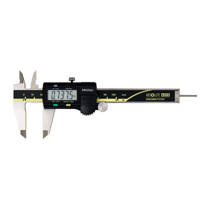 "Series 500 Digimatic Caliper with ABSOLUTE Encode Technology, 0-4"" Range"