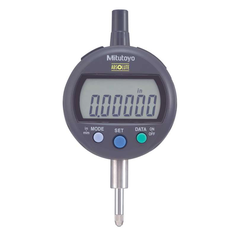 """Series 543 ID-C Digimatic Indicator with ABSOLUTE Encode Technology and Lug Back, 0-.5""""/12.7mm Range"""